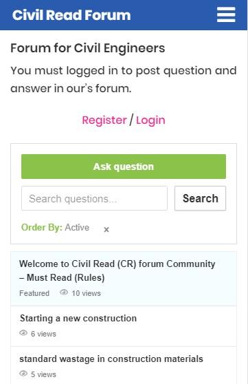 Civil Read Search Box Redesign